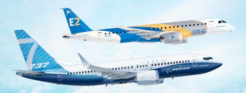 Boeing & Embraer